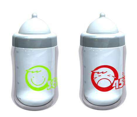 Temperature-Sensitive Baby Bottles