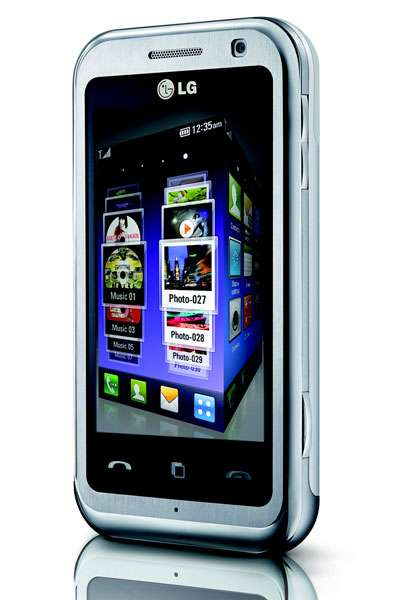3D Touchscreen Cell Phones - The LG Arena Smartphone Takes Multimedia to a New Dimension