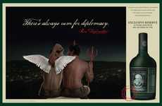 Alcoholic Punvertising - With Diplomatico, There's Always Rum for Diplomacy