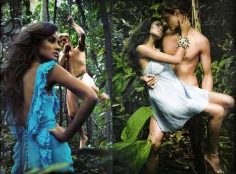 Tarzan Fashion Editorials