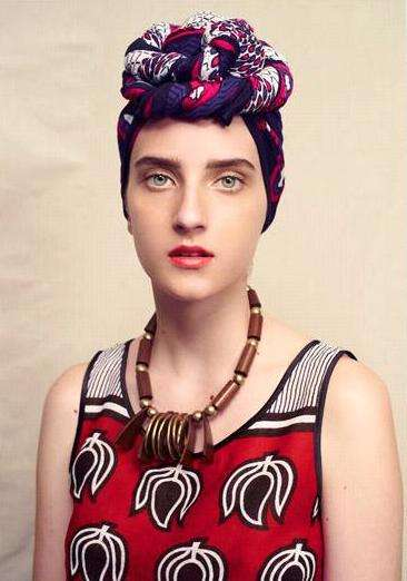 Vintage African Fashion - The Fair Trade Fashions of Suno NY Began in Africa