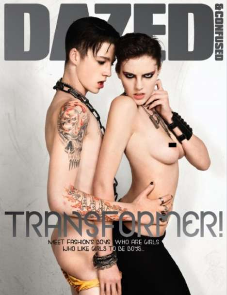 Racy Covers That Celebrate Androgyny - Dazed & Confused Likes Boys Who Are Girls