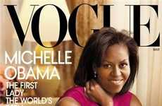 Historical Fashion Covers - Michelle Obama Covers Vogue Magazine in Jason Wu