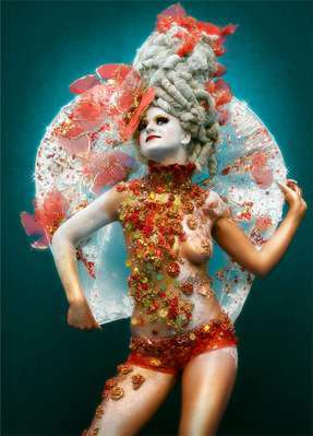53 Extraordinary Examples of Body Paint