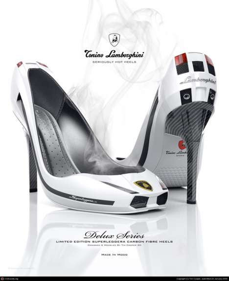 Supercar Stilettos - Lamborghini Pumps Are Perfect For Ladies With A Need for Speed