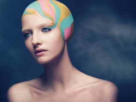 Vibrant Hair Editorials