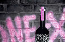 Graffiti-Inspired Liquor Bottles - Andre Designs Belvedere IX for 'Luxury Reborn' Campaign