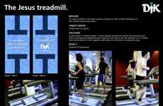 Religious Gyms - DJK Hamburg Ad Inspires Catholics to Burn the Other Cheek