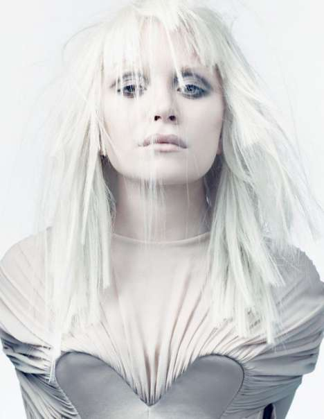 Platinum Blonde Editorials