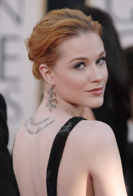 Cataloging Celebrity Tattoos - Proving Permanent Ink is a Personalized Form of Expression