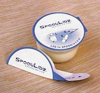 Packaging as Cutlery - SpoonLidz Fold-Out Spoons Under the Lid