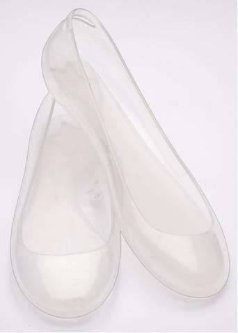 Wearable Cinderella Shoes - Plastic Flats from Kartell and Normaluisa Channel Disney Heroine