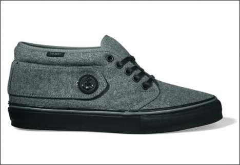 Elegant Wool Sneakers