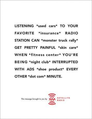 Interrupted Radio Ads