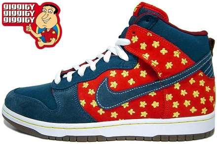 Glen Quagmire' Nike SB Dunk Hi for