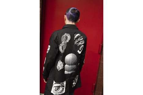 Artistic Math-Inspired Streetwear