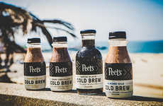 Non-Dairy Cold Brew Beverages - Peet's Coffee Added a Dairy-Free Option to Its Coldcraft Collection