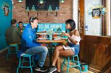 Canned Bean Cafes - Heinz Beans' Pop-Up Cafes Offer Meals in Exchange for Social Media Shares