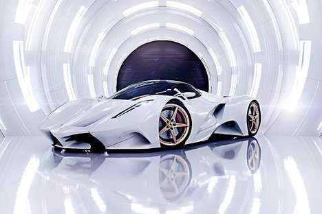 Curvaceous Supercar Concepts