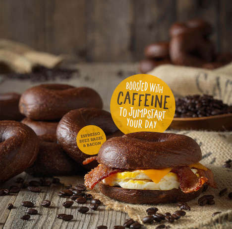Caffeinated Morning Bagels