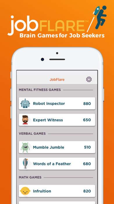 Gamified Job-Seeking Apps