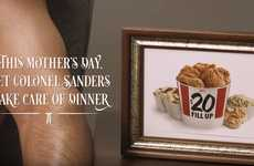 Fried Chicken Romance Novellas - 'Tender Wings of Desire' is a Mother's Day Promotion from KFC