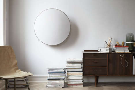 Contemporary Orb-Like Speakers - Bang and Olufsen's Beoplay A9 Designer Speakers Look Like Decor