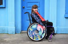 Decorative Wheelchair Decals