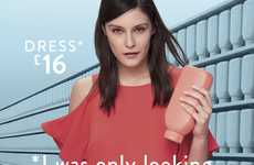 Fashion-Focused Supermarket Ads