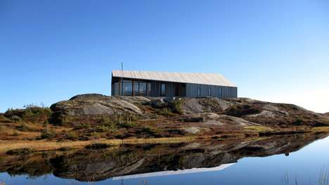 Rugged Prefab Cabins - Gapahuk is Designed to Handle the Harsh Weather of Norway's Mountains