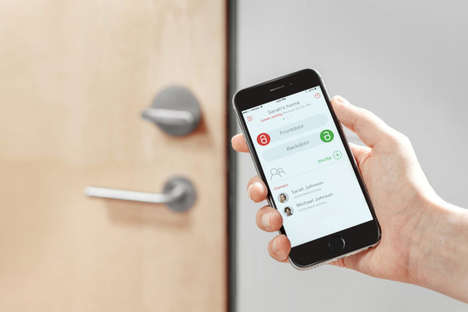 Smartphone-Controlled Door Locks