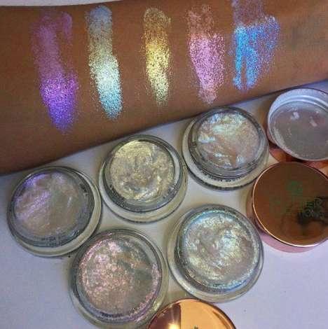 Glittery Cream Highlighters