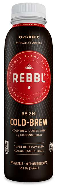 Adaptogenic Cold Brews - REBBL's Healthy Cold Brews are Enriched with Nourishing Medicinal Herbs