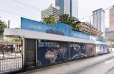Solar-Powered Transit Shelters - HSCB Introduced Hong Kong's First Solar-Powered Tram Shelter