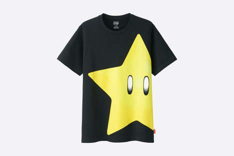 Modernized Video Game Apparel - This Nintendo Collection from Uniqlo Features Designs from a Contest