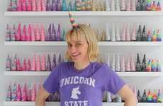 Unicorn-Themed Accessory Stores - Brooklyn Owl is Taking Advantage of the Current Unicorn Craze