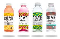 Organic Electrolyte Drinks - ROAR Beverages' Electrolyte Infusions are Naturally Sweetened