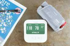 Color-Coding Health Monitors - The iHealth Clear Wireless BP Monitor Can Monitor Blood Pressure