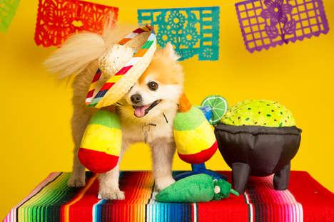 Fiesta-Inspired Dog Toys
