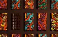 Illustrative Peruvian Chocolate Branding