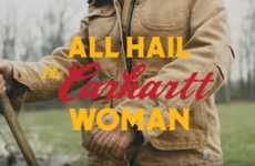 Historic Mother's Day Ads - The 'All Hail the Carhartt Woman' Ad Celebrates Working Women