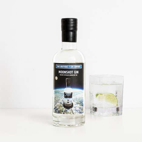 Space Vacuum-Distilled Gin Liquors