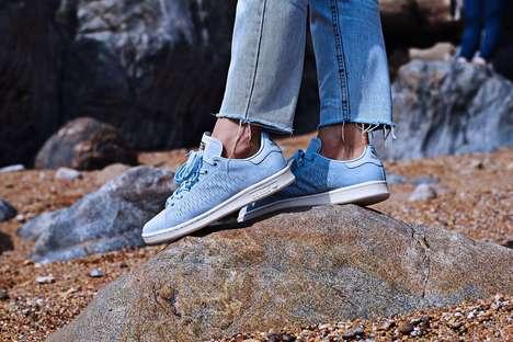 Minimalist Sky Blue Sneakers