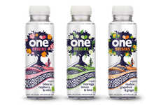 Botanical-Infused Spring Waters - The One Drink Origins Drink Line is a Healthier Beverage Option
