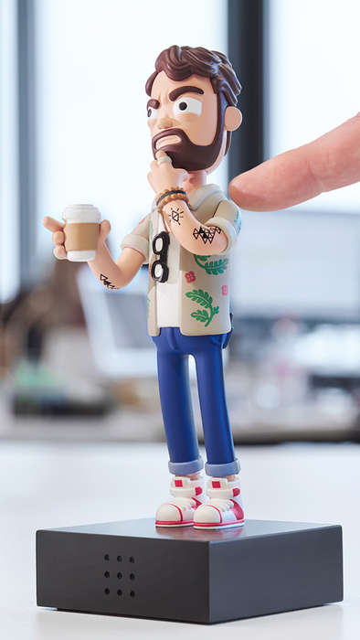 Art Director Action Figures - Adobe's Art Action Figure is a Toy for Ad Industry Members