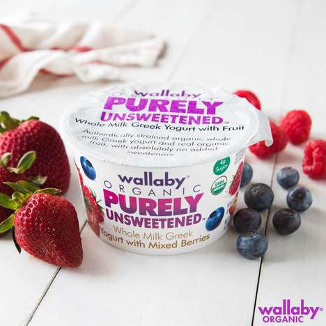 Sugar-Free Yogurt Branding