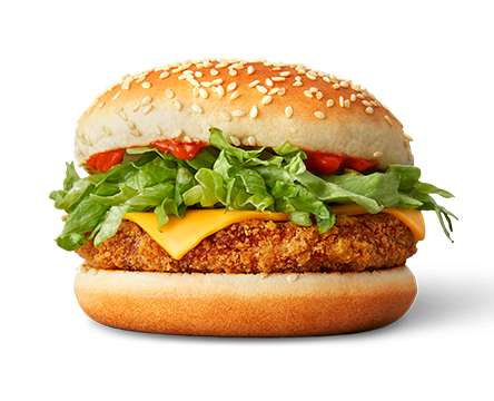 Kidney Bean Burgers - McDonald's is Now Serving the Vegetarian-Friendly 'Veggie McSpice' in Norway