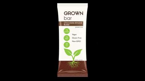 Water-Saving Protein Bars - The Grown Bar Offers Nutritious Benefits for Its Consumers