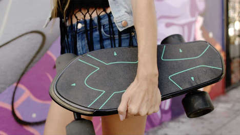 AI-Driven Electric Skateboards