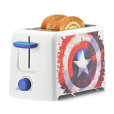 American Hero Appliances - The Captain America Kitchen Collection Lets You Cook Like Steve Rogers